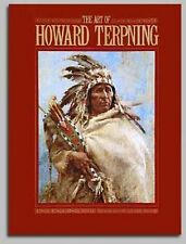 The Art of Howard Terpning by Don Hedgpeth (2001) TERPNING HAND AUTOGRAPHED