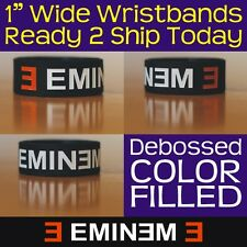Eminem Wristband Quality Silicone Rubber Bracelet Band Brand New In Stock Now