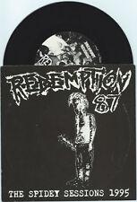 "Redemption 87 ""The Spidey Sessions"" 7"" OOP VG+ /1000 AFI Nerve Agents Rancid"