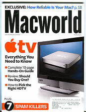 Macworld Magazine June 2007 Apple TV EX 072516jhe
