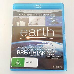 EARTH BLU-RAY Region B 2008 BBC Nature Documentary
