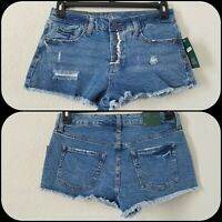 WILD FABLE Women's Cheeky Denim Shorts Size 6 High Rise***Button Fly*Stylish*NWT