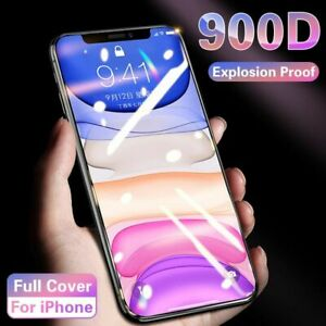 Mobile Phone Screen Protector Full Cover Matte Tempered Front Film For iPhone