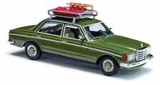 BUSCH 46865 échelle H0 Mercedes W 123 avec luge + Bob #neuf emballage d'origine#