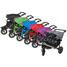 Out n About Nipper Double 360 V4 Buggy - including Raincover Free Double Basket