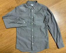 Men's ASKET Long Sleeve Cotton Oxford Shirt Size XS