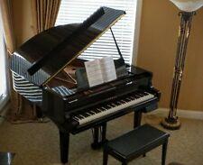 """Yamaha Disklavier DGC1 Baby Grand Piano 5'3"""" Ebony ~ EXCELLENT"""