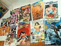 Wonder Woman Super hero DC Comic 7 books # 18 21 22 24 25 26 33 comics 2000s