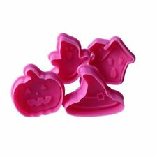 HALLOWEEN cookie cutter biscuit mould baking cake decoration topper - Set