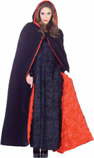 Morris Costumes Adult Unisex Capes & Robes Deluxe Hooded Velvet 63 Inch. UR29461