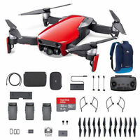 DJI Mavic Air - Flame Red Drone - Fly More COMBO - 4k Free 32G extreme  SD card