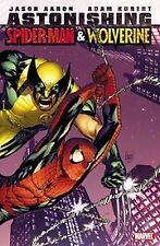 Astonishing Spider-Man & Wolverine, Adam  Kubert Jason  Aaron, Very Good