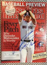 Daisuke Matsuzaka Signed Sports Illustrated Magazine 2007 Boston Red Sox