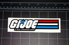 GI JOE A Real American Hero logo vinyl decal sticker Cobra vintage retro toy 80s