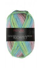 Alicante 7 4-fach Pro Lana Sockenwolle grün braun Strumpfwolle