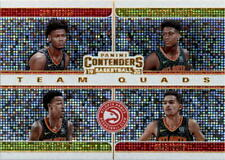 2019-20 Panini Contenders Team Quads Basketball Card Pick