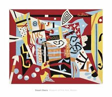 Hot Still-Scape for Six Colors - 7th Avenue 1940 by Stuart Davis Art Print 26x30