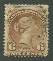CANADA #27a USED LARGE QUEEN