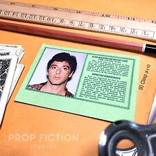 Scarface - Antonio Montana Green Card / Alien Registration Cosplay Card
