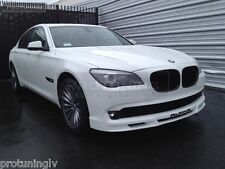 BMW 7 series F01 Alpina style Front Splitter Lip diffuser bumper extension Skirt