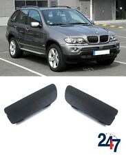 BMW NEW E53 X5 SERIES 2003 - 2006 LCI FRONT TOW EYE COVER CAP PAIR SET