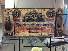 Confederate $5.00  Novelty Vanity License Plate, (NEW)