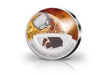 10 Dollar Meteoriten Einschlag Mauerkirchen mit Farbapplikation im Etui