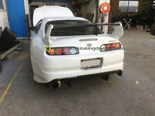 Supra Jza80 TRD style wing with carbon fiber blade- body kit bar bumper gt varis
