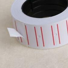1 Roll(500 Labels) White Self Adhesive Price Label Tag Sticker Office Supplies