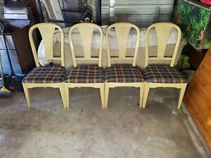 Set of 4 French Style Dining Chairs