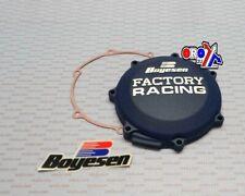 WR250F YZ250F BOYESEN FACTORY CLUTCH COVER BLUE 01-07 WRF WR YZF 250