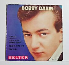 BOBBY DARIN - MORITAT   + 3 -( E.P. ) - BELTER  - ED. ESPAÑA  1959