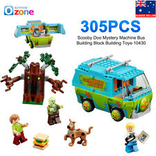 305Pcs Scooby Doo Mystery Machine Bus Building Block Building Toys-10430