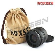50mm f/1.8 C mount wide CCTV Lens for APS-C sensor camera NEX OM-D M4/3 FX P/Q