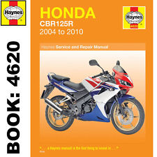 Honda CBR125R 124cc 2004-2010 Haynes Workshop Manual
