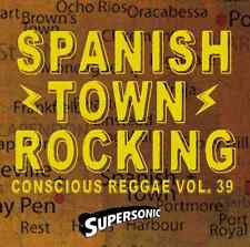 SUPERSONIC SPANISH TOWN ROCKING  REGGAE & LOVERS ROCK MIX CD