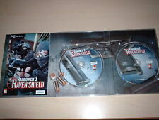 TOM CLANCY'S RAINBOW SIX 3 RAVEN SHIELD PC GAME PC CD-ROM 15+ FREE P&P