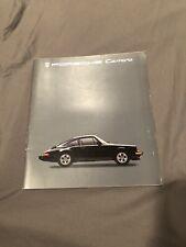 1985 Porsche 911 Carrera Brochure