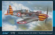 "Morane-Saulnier MS-406C.1 ""Red & Yellow Stripes"" - Azur A114 1:72 Modellbau Prop"