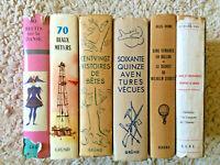 Gründ * Lot de 5 Volumes + 1 Volume S.C.P.E. * Danse + Aventures + J. Verne +++