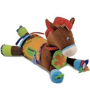 New! Melissa & Doug Giddy-Up and Play Baby Activity Toy- Multi-Sensory Horse NIP