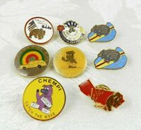 Lot of 8 BPOE Elks Lapel Pins California Hawaii CHEMPI