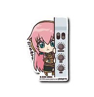 "B-SIDE LABEL Sticker Emblem Vocaloid Hatsune Miku Megurine Luka ""Here?"" From JP"