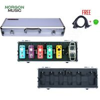 Mooer M6 Flight Case for Electric Guitar Effects Pedals Metal Shell Firefly