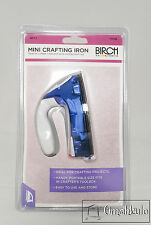 BIRCH - Mini Crafting Iron, Great for Crafts, Travel or Tricky Pressing -*