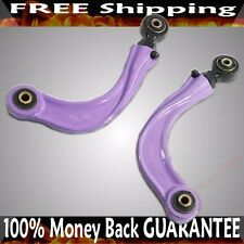PURPLE Rear Adjustable Camber Kits fits 2004-2011 Mazda 3