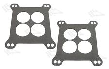 Carb Base Gasket - 2 Pack - 4 bbl. Square Flange - 4 Hole - Holley Edelbrock