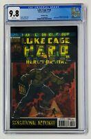 Luke Cage #166 CGC 9.8 Lenticular Cover HERO FOR HIRE #1