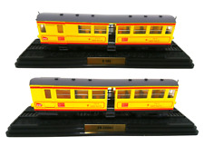 Le Train Jaune Lot de 2 Automotrices - SNCF Ho 1/87 Train Locomotive Atlas