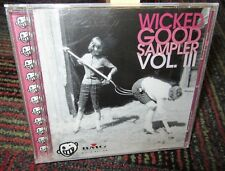 A WICKED GOOD SAMPLER VOLUME III MUSIC CD, PROMO COMPILATION, 17 TRACKS, HITS